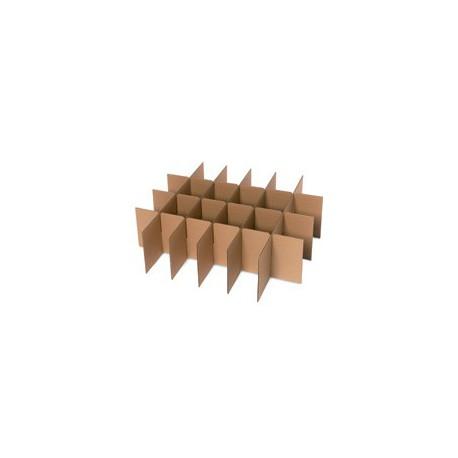 croisillons plaques verres pour 10 cartons no 3 boxshop emballage. Black Bedroom Furniture Sets. Home Design Ideas